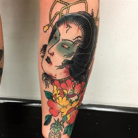 idees tatouage geisha plaisir  tradition en