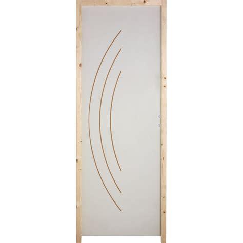 bloc porte isoplane aven h 204 x l 73 cm poussant droit leroy merlin