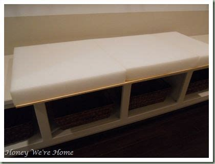 bench cushions ideas  pinterest seat cushion foam storage bench seat ikea  diy