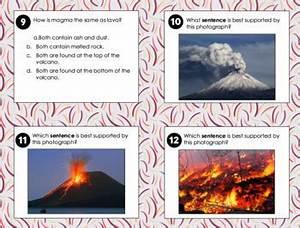 Volcano Informational Text Diagrams Illustrations Task