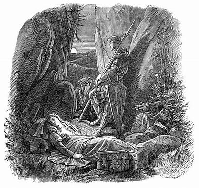 Sleep Walter Illustrations Watched Baur Elder Albert