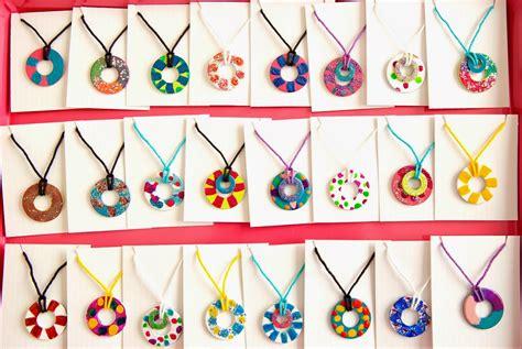 craft project diy nail polish wash necklaces magnets
