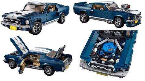 lego ford mustang highly detailed 1967 ford mustang gt lego kit coming march