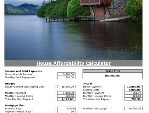 Home Affordability Calculator  My Excel Templates. How Much Should Replacement Windows Cost. Plumbing Colorado Springs Plumber San Rafael. Rubber Floor Mat Tiles T Rowe Price Annuities. Best Mortgage Lenders For First Time Home Buyers. How To Put Up A Electric Fence. Network Security Vendors Directv Versus Cable. Patient Transport System Walk In Bath Showers. Certified Allergy And Asthma