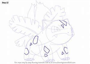 Learn How to Draw Ivysaur from Pokemon (Pokemon) Step by ...