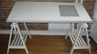 ikea drafting table w light box 100 flickr photo
