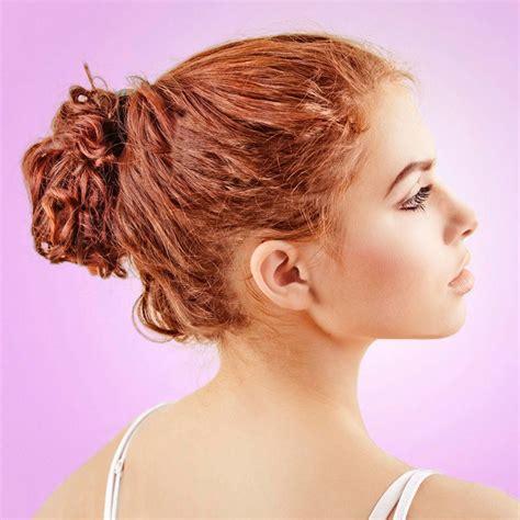 frisuren rote haare rote hochgesteckte haare rote haare