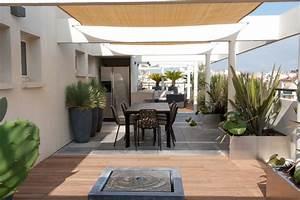Aménagement Terrasse Appartement : avant apr s une terrasse vivre spectaculaire d tente jardin ~ Melissatoandfro.com Idées de Décoration