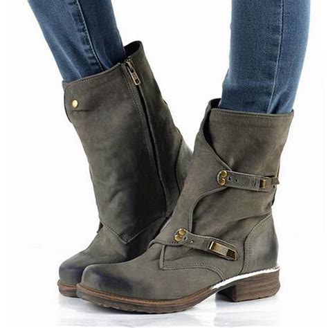 best motorcycle boots for women 2016 brand design genuine leather vintage motorcycle boots