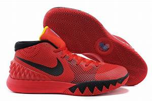 """Cheap Nike Kyrie Irving 1 """"Deceptive Red"""" Bright Crimson ..."""