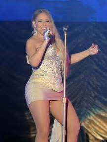 Mariah Carey Suffers Embarrassing Wardrobe Malfunction