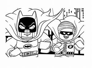 Lego Boy Wonder Coloring Page - Free Coloring Pages Online