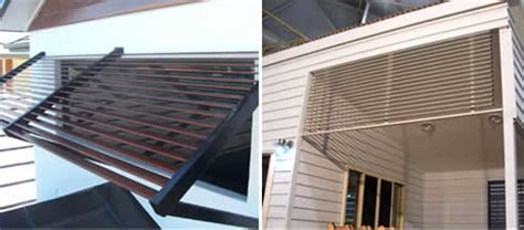 colorbond louvre  style  privacy  residential  commercial