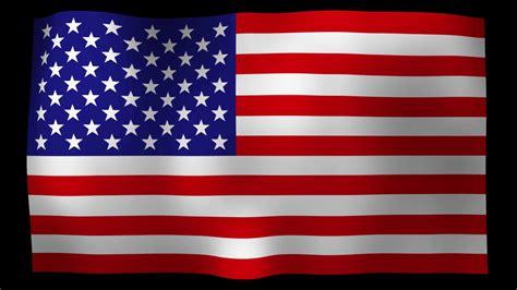 american flag  motion loop stock video youtube