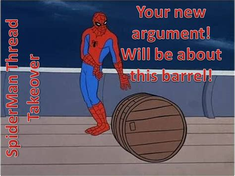 spiderman thread takeover 60s spider man know your meme