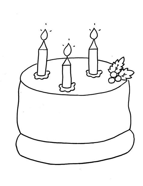 birthday cake drawing  getdrawings