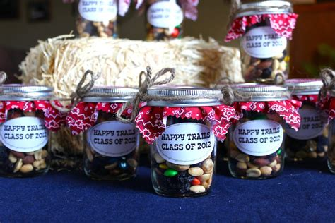diy western cowboy graduation favors happy trails class of 2012 a cowboy s