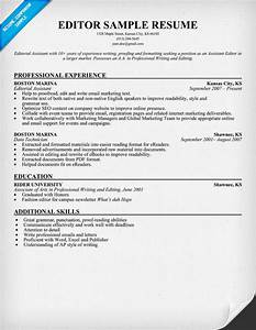 Writer editor resume for Free resume editing software
