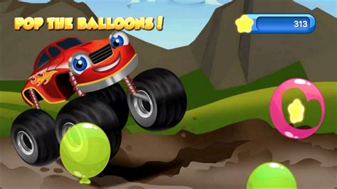 Monster Trucks Kids Racing Game App For Young Kids With 15