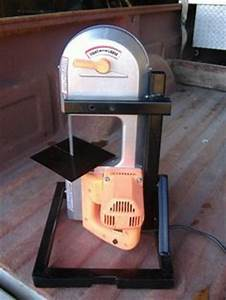Simplest Plans for a Portable Bandsaw Stand - Very Handy ...