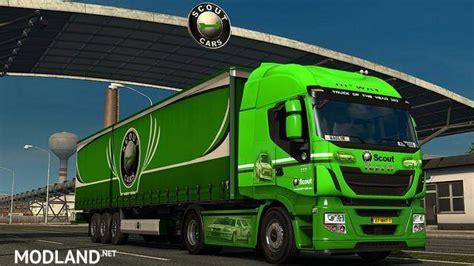 truck simulator 2 original scs original company truckskins 1 27 mod for ets 2