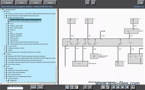 bmw wds wiring diagram system ver 7 0 repair
