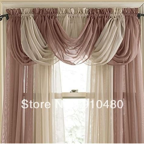 Waterfall Curtain Swags Valances