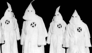Ku Klux Klan Recruiting KKK Hands Out Leaflets In Texas