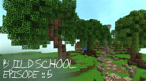 minecraft tutorials build school episode  custom