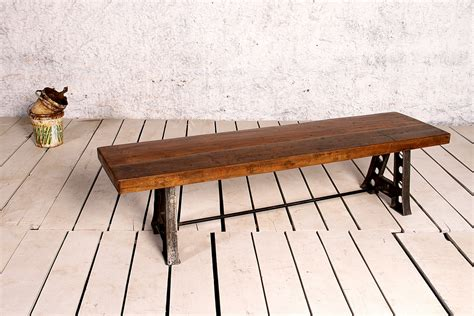 Chair Bench by Industrial A Frame Bench Seat Crank Furniture