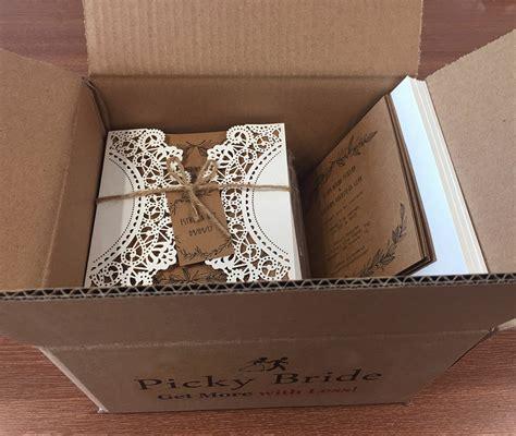 Aliexpress com : Buy Vintage Wedding Invitations Ivory