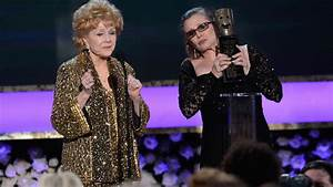 Debbie Reynolds and Carrie Fisher's SAG Awards speech ...