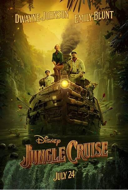 Jungle Cruise Poster Disney Trailer Walt
