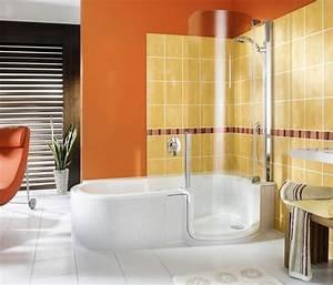 baignoire douche prix et modeles ooreka With porte de douche coulissante avec prise electrique etanche salle de bain