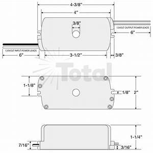 Under Cabinet 150watt 12v Ac Electronic Encapsulated