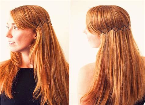 hair styling for 15 creative ways to use bobby pins fascinately 5450