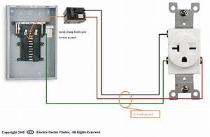 How To Wire A 20 Amp 240 Volt Outlet From A Fuse Box
