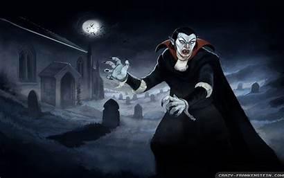 Vampire Halloween Wallpapers Frankenstein Crazy Kb Midnight