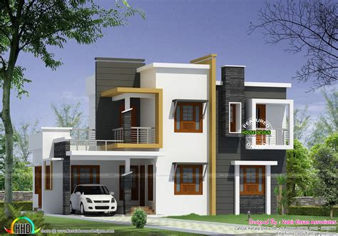 contemporary home designs and floor plans home design foxy boxtype kerala style house design