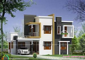 Box Type Modern House Plan Kerala Home Design Floor Plans