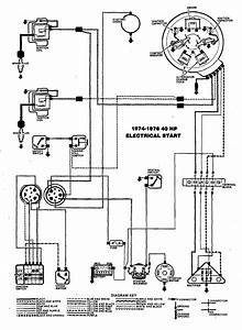 I Need To Ask A Question    I Need A Wiring Schematic For A 1975 40 Hp Outboard Motor  Can You