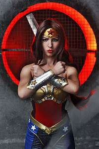 Injustice cosplay Wonder Woman by Nemu013 on DeviantArt