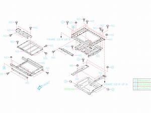 2018 Subaru Crosstrek Drive Motor Battery Pack Tray  Lower