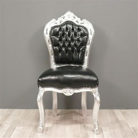 chaises baroque black baroque chair armchairs