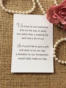 25 50 wedding gift money poem small cards asking for With how to ask for money for wedding gift