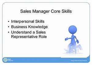 Training Sales Managers The Essential Skills They Must