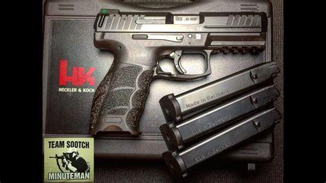Hk Vp40 40 Caliber Pistol Review  Youtube