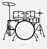 Drum Drums Kit Clipart Drawing Clip Coloring Icon Bateria Baterias Batteria Pinclipart Desenho Transparent Noun Icons Colorir Library Drumset Graphic sketch template