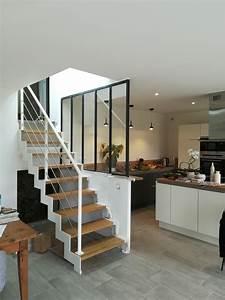 escalier design 14 caen escaliers sur mesures With modele de terrasse en bois exterieur 14 lescalier design moderne autoporteur suspendu metalique