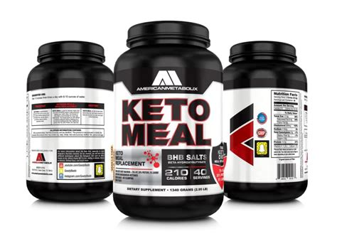 Amazon.com: American Metabolix Keto Meal Vanilla Cake, 48
